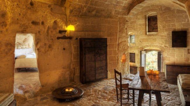 Honeymoon suite Sextantia Le Grotte della Civita Matera