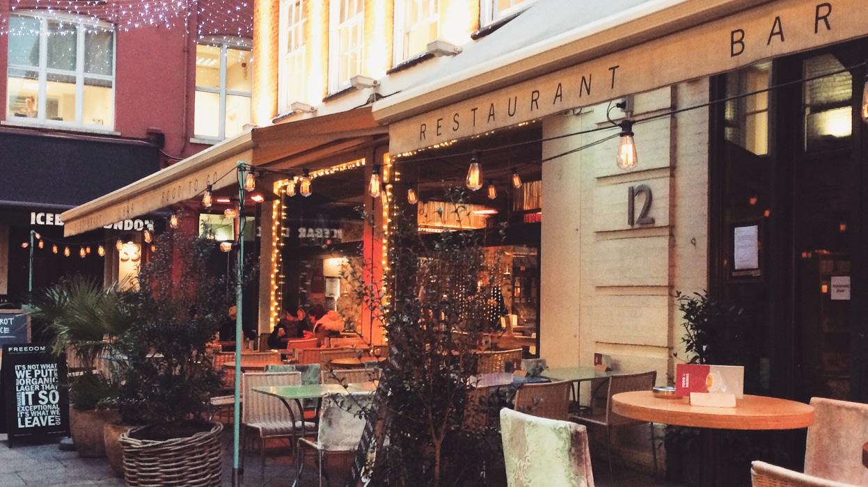 tibits vegetarian restaurant London
