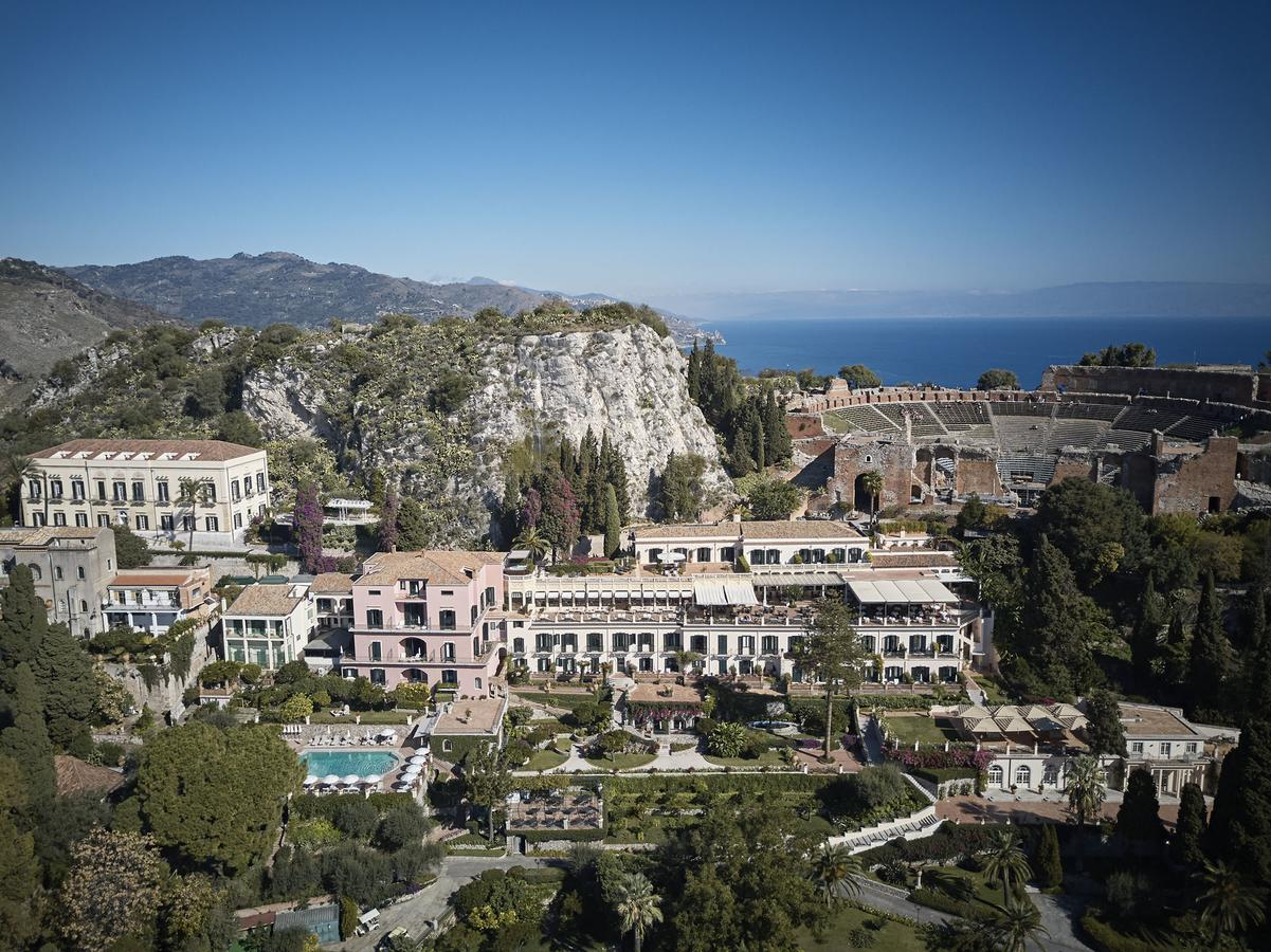 Belmond Grand Hotel Timeo, Sicily Aerial View