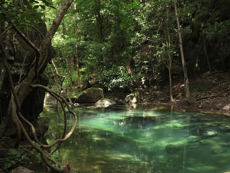 Hotel and Thermal River Rio Perdido, Bagaces, Guanacaste, Costa Rica