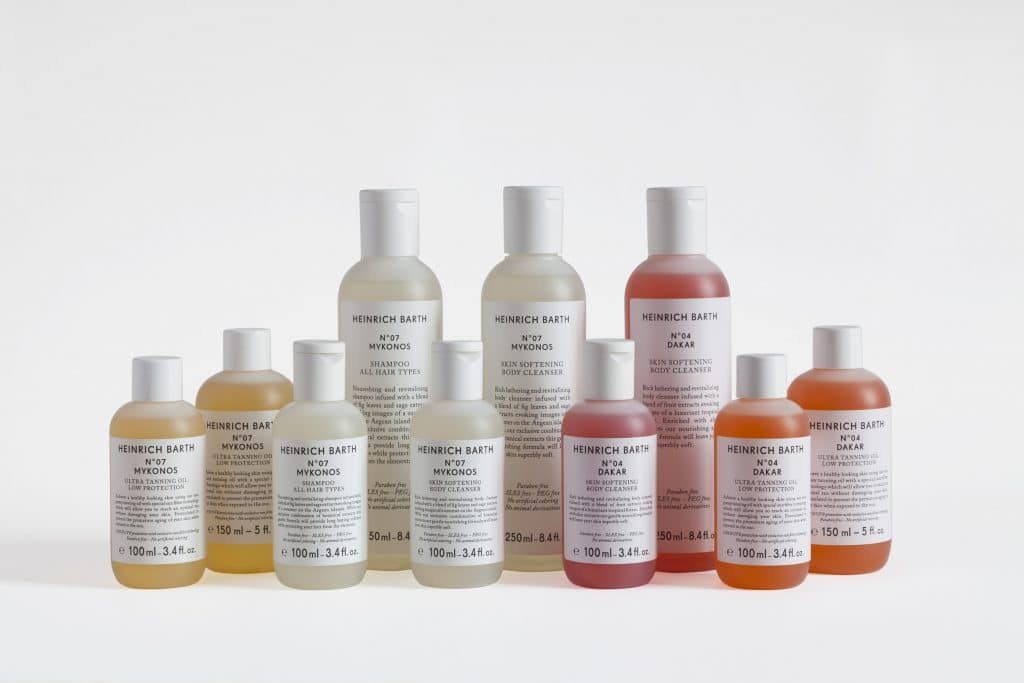 HEINRICH BARTH - Vegan beauty travel products