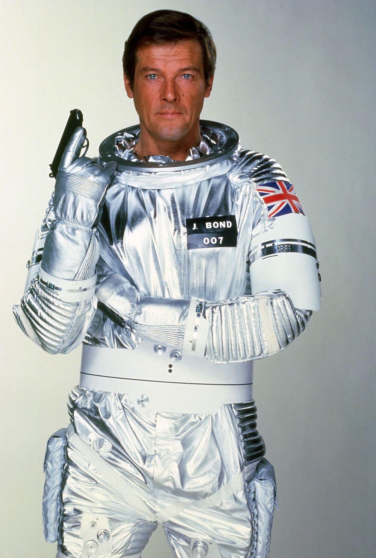 Roger Moore as James Bond 007