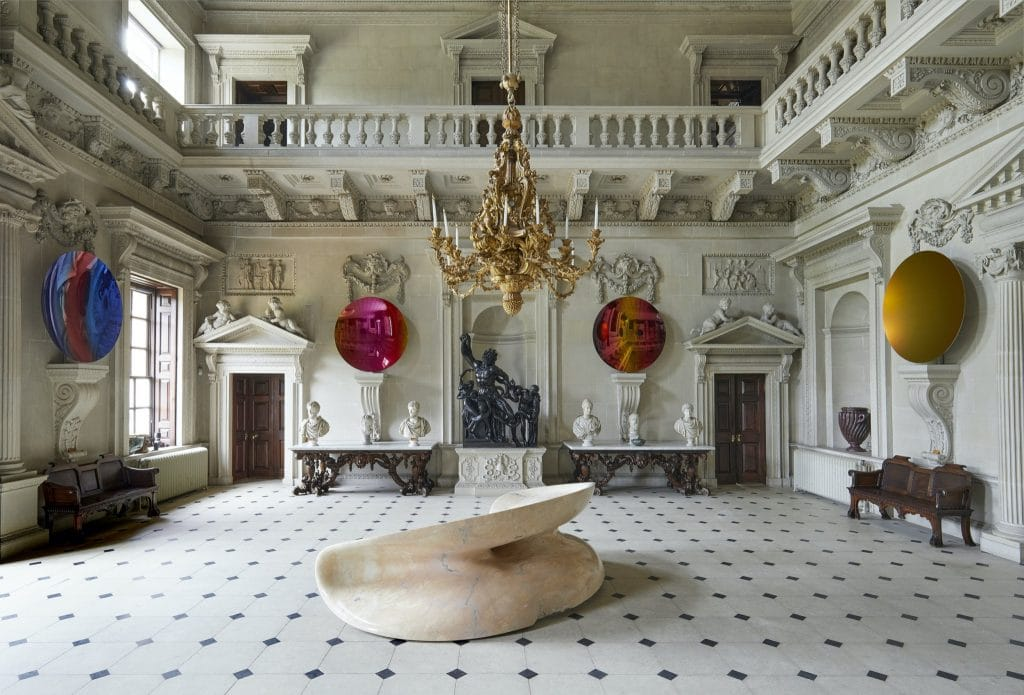 Anish Kapoor at Houghton Hall, Norfolk