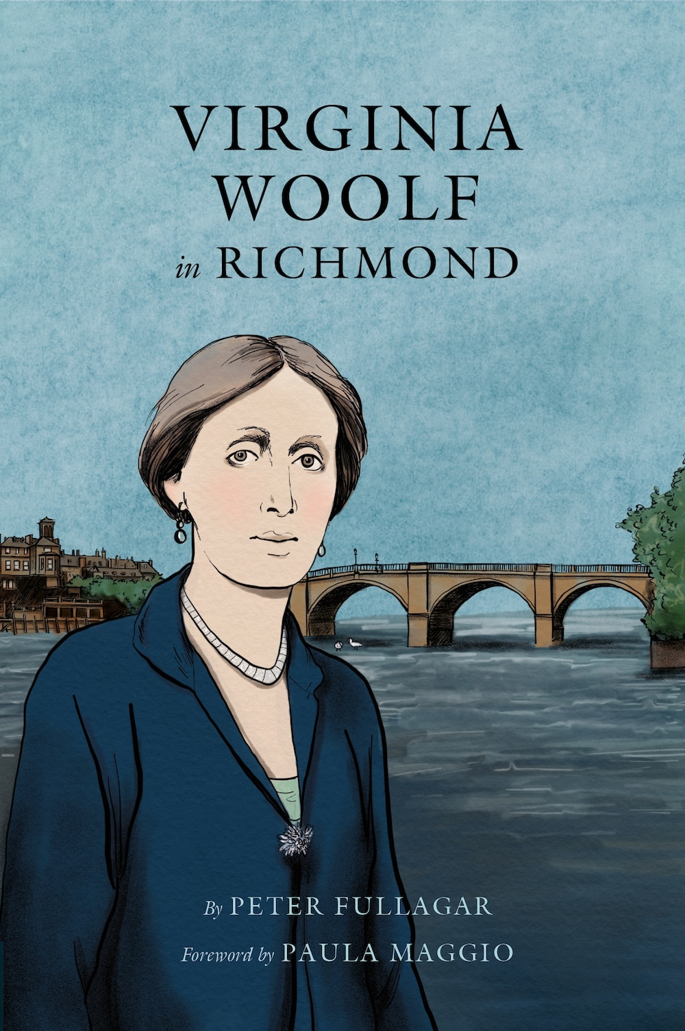 Virginia Woolf in Richmond by Richard Fullagar