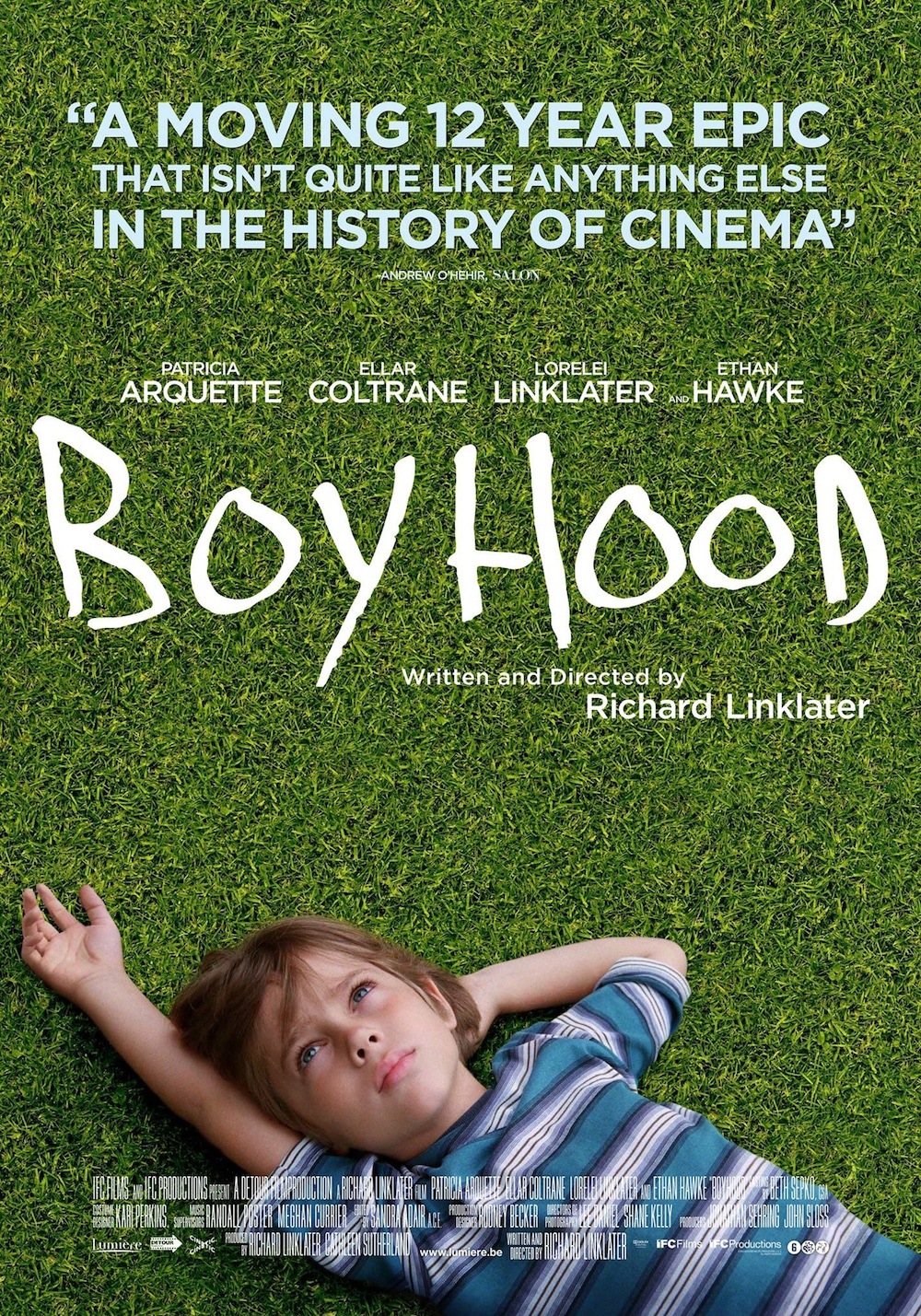 ethan hawke interview conversation richard linklater boyhood