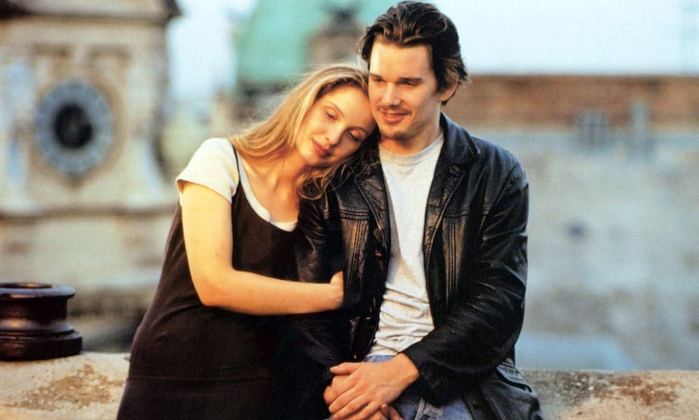 ethan hawke interview conversation before sunrise richard linklater delpy