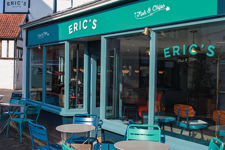 Erics Fish Chips Holt Norfolk