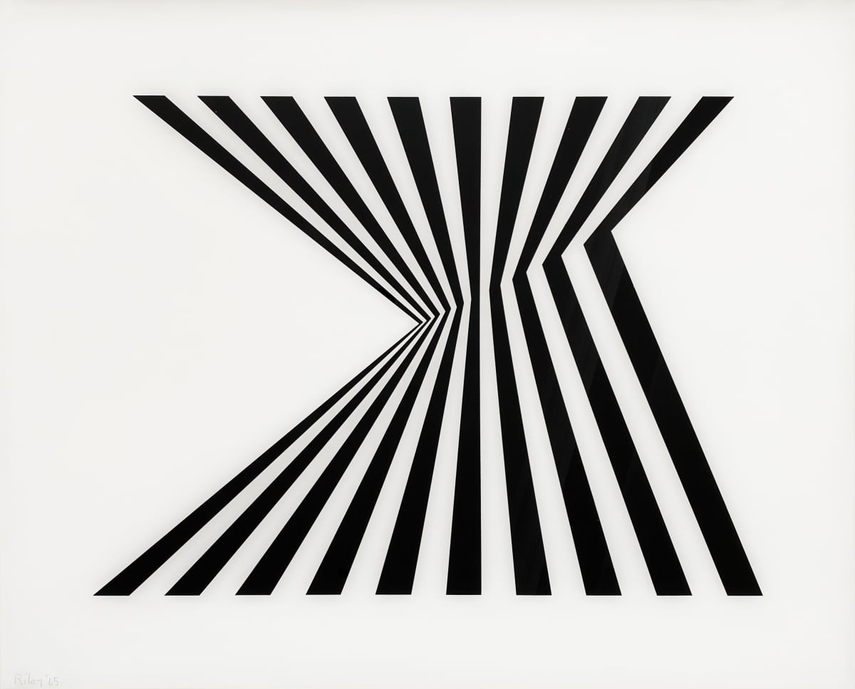 Fragment Bridget Riley, The Complete Prints, 1962 2020 Thames and Hudson Cristea Roberts