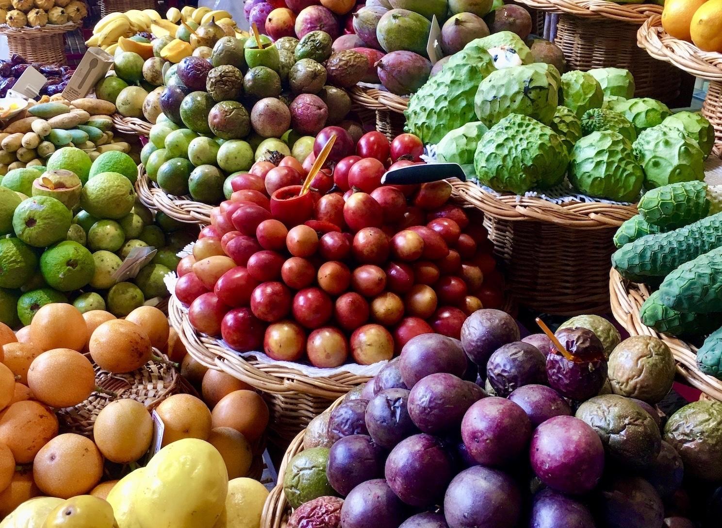 Hotel Estalagem do Ponta do Sol Madeira Fruit market