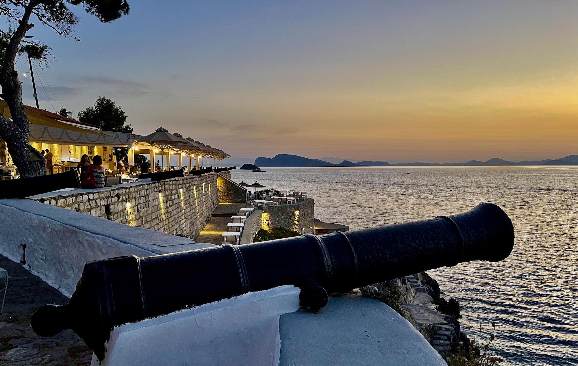 Hydrea Exclusive Hospitality Hotel Hydra Greece Sunset Bar